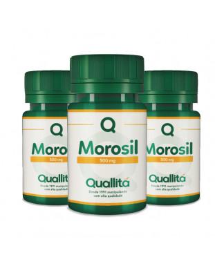 Morosil® 500 mg – 3 potes de 60 Cápsulas *Com Selo de Autenticidade Galena
