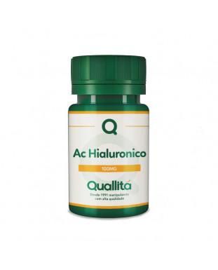 Ácido Hialurônico 100mg – Antienvelhecimento ajuda reduzir envelhecimento e mantém as articulações saudáveis, cápsulas