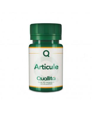 Articule - UC-II® 40mg + Move® 100mg + Vitamina D3 1.000 UI *Com selo de autenticidade* Quallitá
