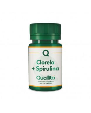 Chlorella 500mg + Spirulina 500 mg