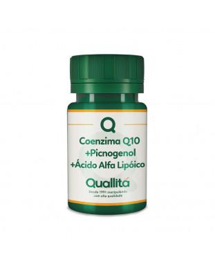 Coenzima Q10 50 mg + Picnogenol 50 mg + Ácido Alfa Lipóico 40mg