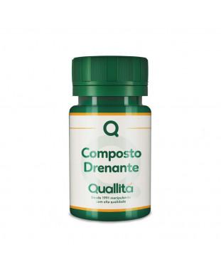 Composto drenante – 30 doses. Auxilia a circulação nas pernas cansadas.