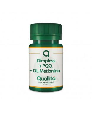 Dimpless 10mg + PQQ 5mg + DL Metionina 300mg - Composto Prevenção do Cabelo Branco em Cápsulas