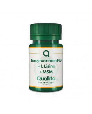 Exsynutriment® 150mg + L Lisina 200mg + MSM 300mg - Reduz marcas de expressão *Com selo de autenticidade