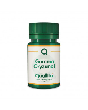 Gamma Oryzanol 300mg - Crescimento Muscular -30 Cápsulas Vegano