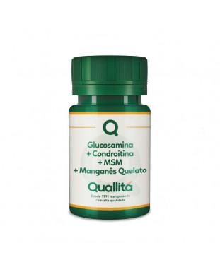 Glucosamina + Condroitina + MSM + Manganês