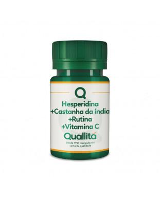 Castanha da Índia Extrato Seco 200mg + Hesperidina 100mg + Rutina 100mg + Vitamina C 200mg