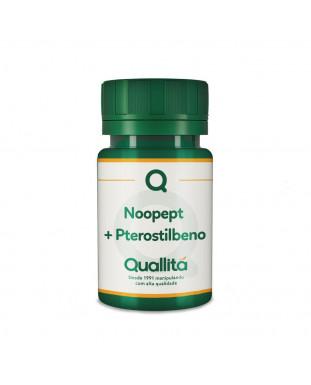 Noopept® 10mg + Pterostilbeno 25mg -cápsulas - Saúde para o Cérebro e Melhor Desempenho Cognitivo