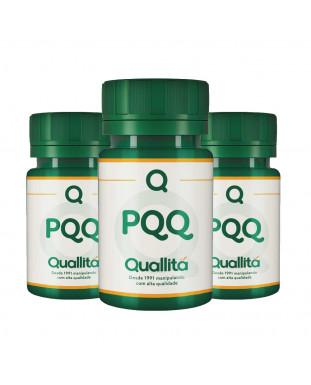 PQQ 10mg - 3 Potes de 30 Cápsulas